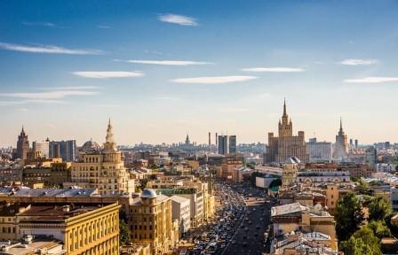 Москва Златоглавая из Минска 1